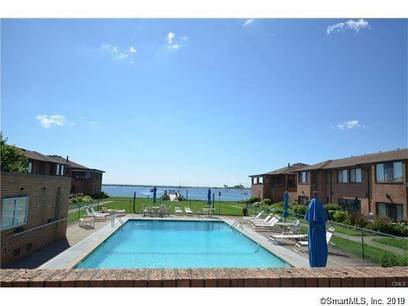 Condo Home Sold in Bridgeport CT 06605. Ranch house near beach side waterfront with swimming pool.