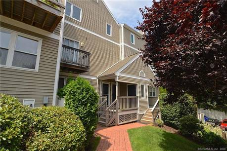 Condo Home Sold in Norwalk CT 06850.  townhouse near beach side waterfront with swimming pool and 1 car garage.