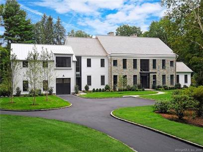 Luxury Mansion Sold in Greenwich CT 06830. Big  house near waterfront with 3 car garage.