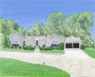 Single Family Home Sold in Fairfield CT 06824. Ranch bungalow house near beach side waterfront with 2 car garage.