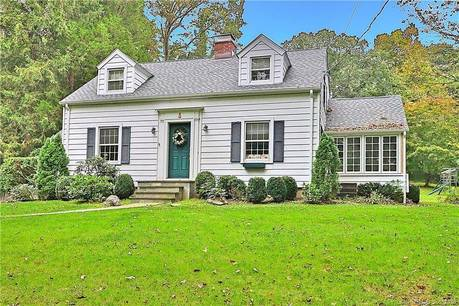 Single Family Home Sold in Wilton CT 06897. Old  cape cod house near waterfront with 1 car garage.