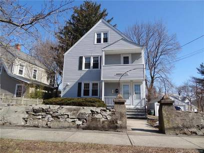 Multi Family Home Sold in Bridgeport CT 06605.  house near beach side waterfront with 2 car garage.