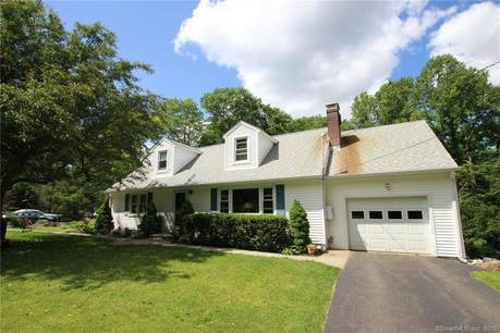Single Family Home Sold in Danbury CT 06811.  cape cod house near waterfront with 1 car garage.