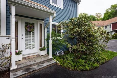 Condo Home Sold in Greenwich CT 06878.  townhouse near waterfront with swimming pool and 1 car garage.