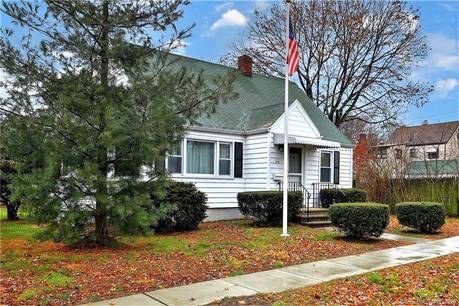 Single Family Home For Sale in Stratford CT 06614.  cape cod house near waterfront with 1 car garage.
