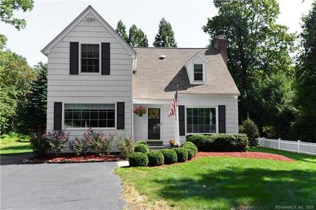 Single Family Home Sold in Westport CT 06880.  cape cod house near waterfront.