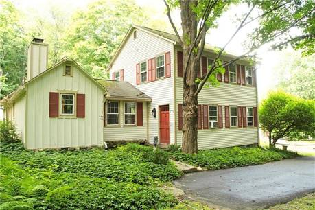 Single Family Home Sold in Newtown CT 06470. Colonial farm house near lake side waterfront with 2 car garage.