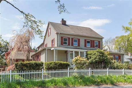 Single Family Home Sold in Shelton CT 06484. Old colonial house near waterfront with swimming pool and 2 car garage.