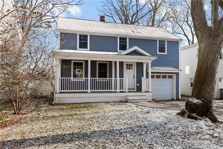 Single Family Home For Rent in Stamford CT 06907. Old colonial house near waterfront with 1 car garage.