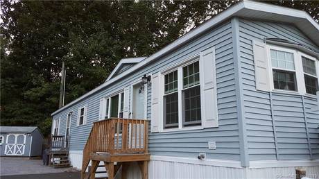 Single Family Home Sold in Shelton CT 06484.  mobile-home house near waterfront.