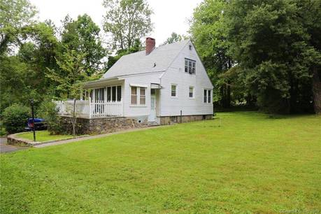 Single Family Home For Sale in New Fairfield CT 06812. Old  cape cod house near river side waterfront with 1 car garage.