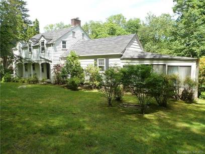 Single Family Home Sold in Westport CT 06880. Old colonial house near waterfront with 2 car garage.