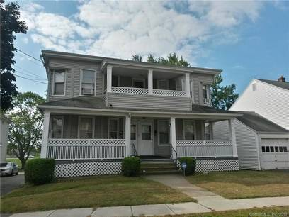 Multi Family Home Sold in Stratford CT 06614. Old  house near lake side waterfront with 1 car garage.