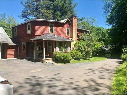 Single Family Home Sold in Greenwich CT 06831. Old antique house near waterfront with 3 car garage.