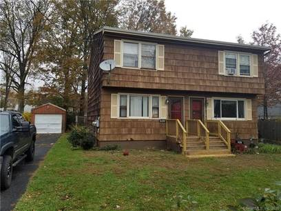 Foreclosure: Single Family Home Sold in Stratford CT 06615.  house near waterfront with 1 car garage.