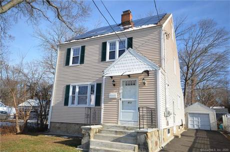 Single Family Home Sold in Bridgeport CT 06606. Colonial house near beach side waterfront with 1 car garage.
