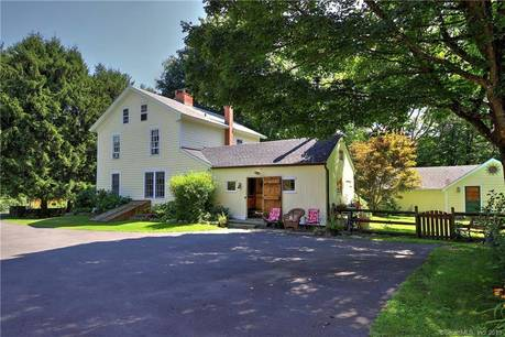 Single Family Home Sold in Monroe CT 06468. Old colonial farm house near waterfront with swimming pool and 6 car garage.