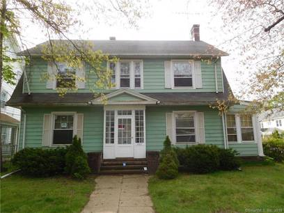 Single Family Home Sold in Bridgeport CT 06604. Old colonial house near beach side waterfront with 2 car garage.
