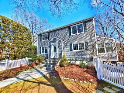 Single Family Home For Sale in New Canaan CT 06840. Colonial house near river side waterfront.