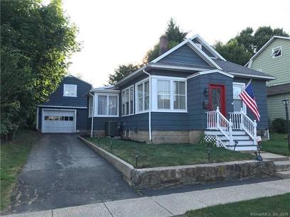 Single Family Home Sold in Stratford CT 06614. Old ranch bungalow house near waterfront with 2 car garage.