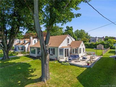 Single Family Home Sold in Stratford CT 06615. Old  cape cod house near beach side waterfront.