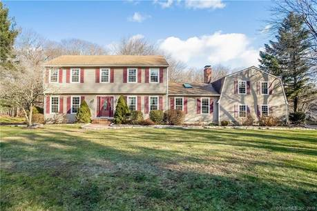 Single Family Home Sold in Trumbull CT 06611. Colonial house near lake side waterfront with swimming pool and 2 car garage.