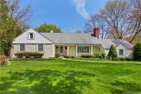 Single Family Home Sold in Stamford CT 06902.  cape cod house near lake side waterfront with 2 car garage.