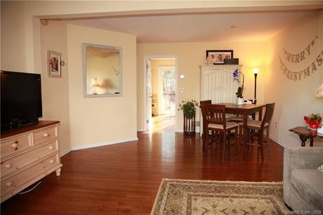 Condo Home Sold in Wilton CT 06897.  house near river side waterfront with swimming pool and 1 car garage.