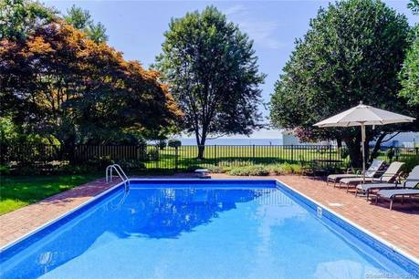 Single Family Home Sold in Stratford CT 06615. Colonial house near beach side waterfront with swimming pool and 2 car garage.