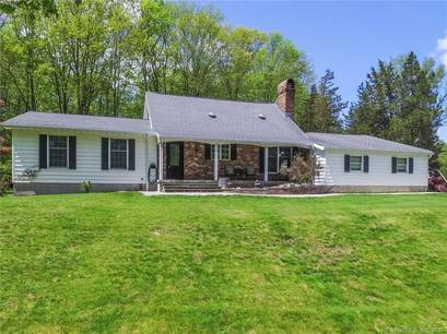 Single Family Home Sold in Shelton CT 06484.  cape cod house near waterfront with swimming pool and 2 car garage.