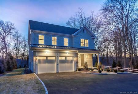 Single Family Home Sold in Westport CT 06880. Colonial house near waterfront with 2 car garage.