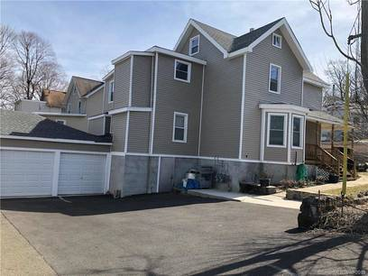 Multi Family Home Sold in Norwalk CT 06850. Old  house near waterfront with 2 car garage.