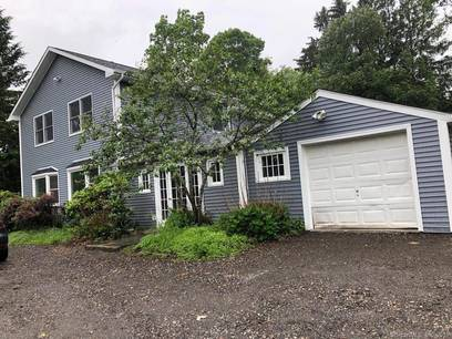Single Family Home For Sale in Bethel CT 06801. Old colonial house near waterfront with 1 car garage.