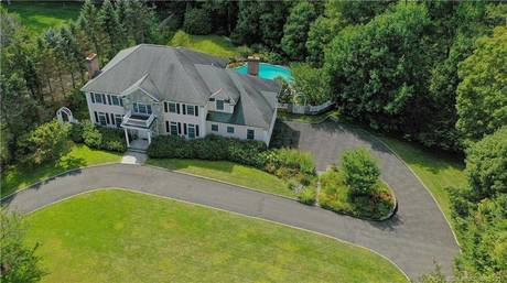 Single Family Home Sold in Stamford CT 06903. Colonial house near waterfront with swimming pool and 3 car garage.