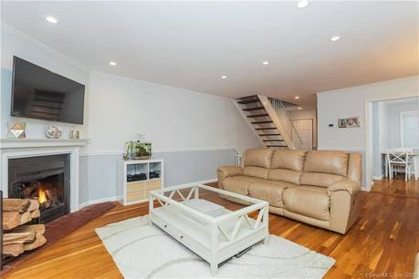 Condo Home Sold in Stamford CT 06905.  townhouse near beach side waterfront with 2 car garage.