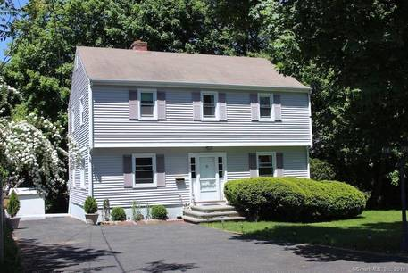 Single Family Home Sold in Stamford CT 06905. Colonial house near river side waterfront.