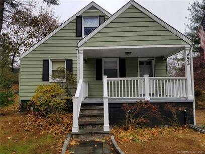 Single Family Home Sold in Ridgefield CT 06877.  cape cod house near waterfront with 1 car garage.