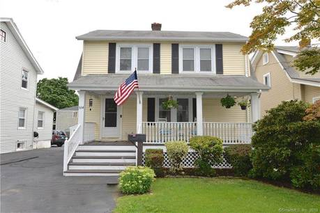 Single Family Home Sold in Stamford CT 06902. Old colonial house near beach side waterfront.