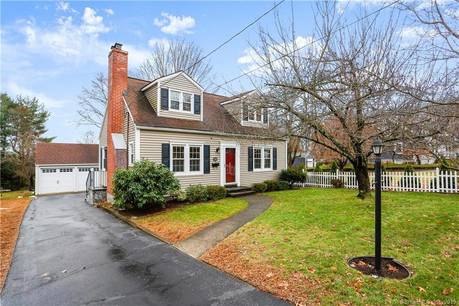Single Family Home Sold in Stratford CT 06614. Old  cape cod house near waterfront with 2 car garage.