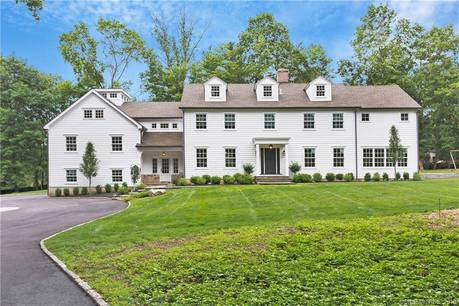 Luxury Single Family Home Sold in Greenwich CT 06830. Colonial house near waterfront with 3 car garage.