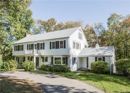 Single Family Home Sold in Stamford CT 06902. Colonial house near beach side waterfront with swimming pool and 2 car garage.