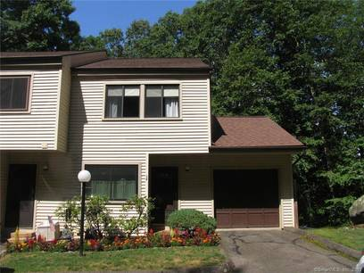 Condo Home Sold in Bethel CT 06801.  townhouse near waterfront with swimming pool and 1 car garage.