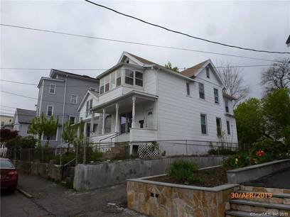 Multi Family Home For Sale in Bridgeport CT 06605. Old  house near waterfront.