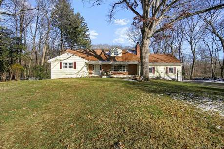Single Family Home Sold in Stamford CT 06907.  cape cod house near waterfront with 2 car garage.