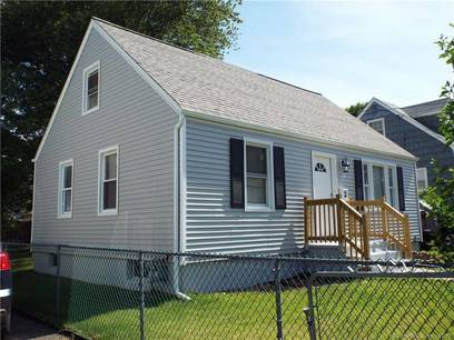 Single Family Home Sold in Bridgeport CT 06606.  cape cod house near beach side waterfront.