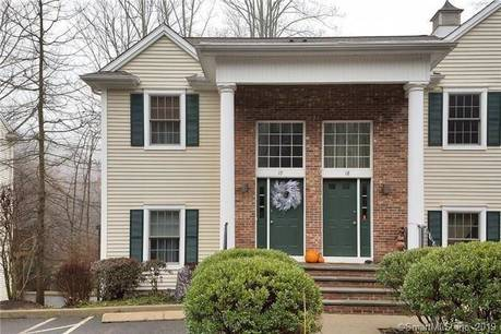 Condo Home Sold in Ridgefield CT 06877.  townhouse near waterfront with 1 car garage.