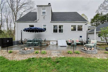 Single Family Home Sold in Trumbull CT 06611. Colonial cape cod house near waterfront with swimming pool and 2 car garage.