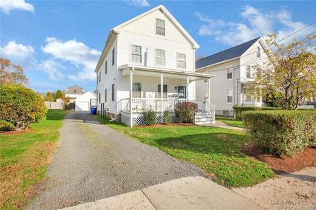 Multi Family Home Sold in Norwalk CT 06855. Old  house near waterfront with 2 car garage.
