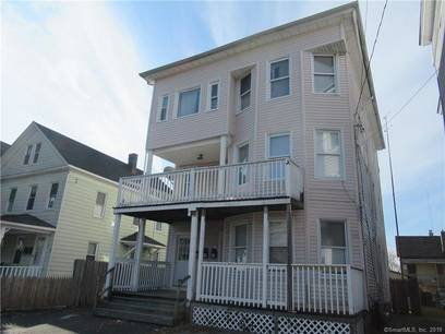 Multi Family Home Sold in Bridgeport CT 06605. Old  house near beach side waterfront.