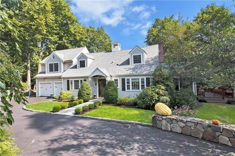 Single Family Home Sold in Stamford CT 06902. Colonial cape cod house near waterfront with 2 car garage.